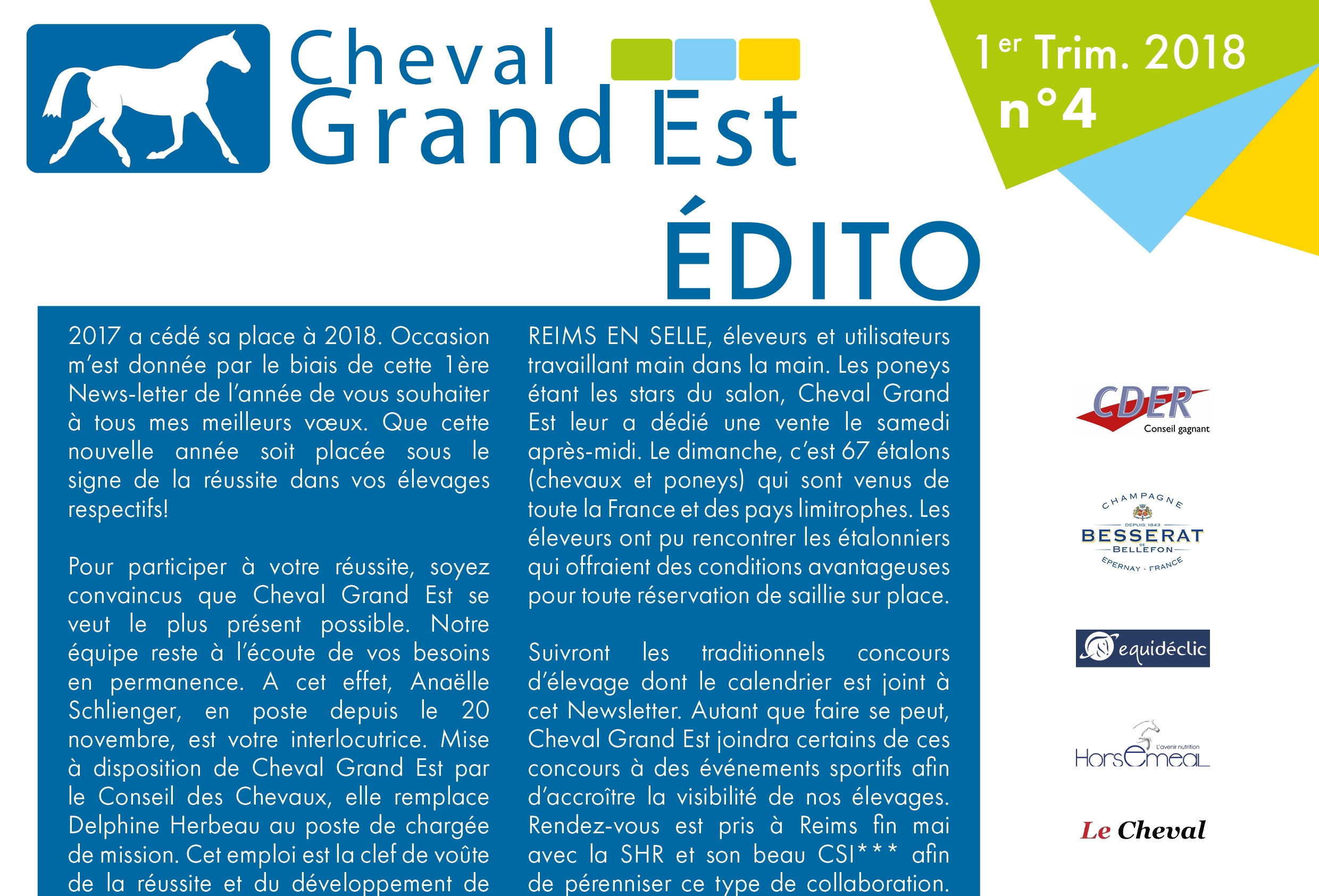 Newsletter - Premier Trimestre