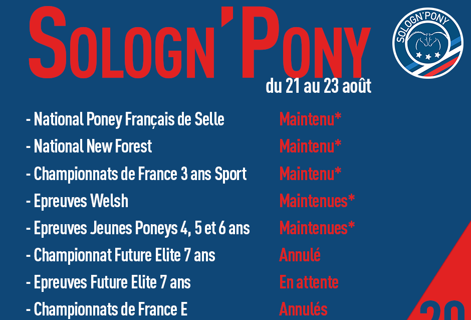 Sologn Pony 2020